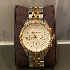 Michael Kors Tri Tone Watch